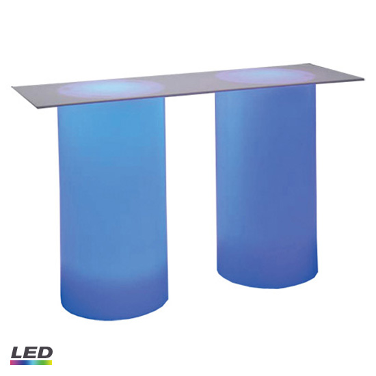 Cylinder Buffet Table 6′