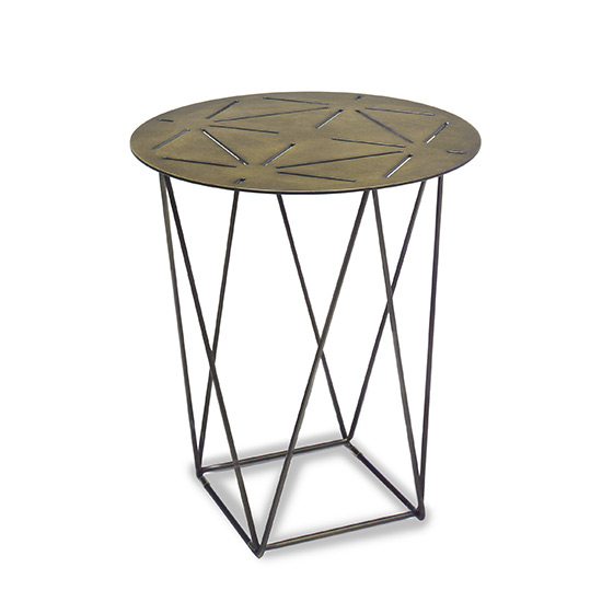 Pentagram End Table